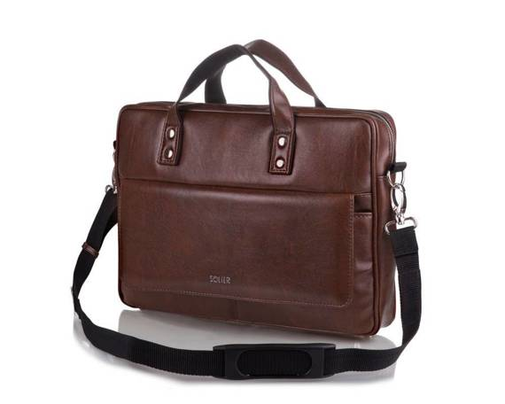 MEN'S SHOULDER BAG SOLIER S32 WESTPORT BROWN VINTAGE